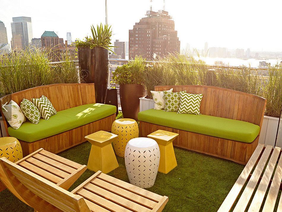 Hotel Mondrian - Terrasse