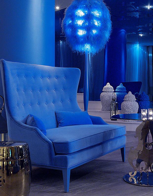 Hotel Mondrian new york - lobby bleu