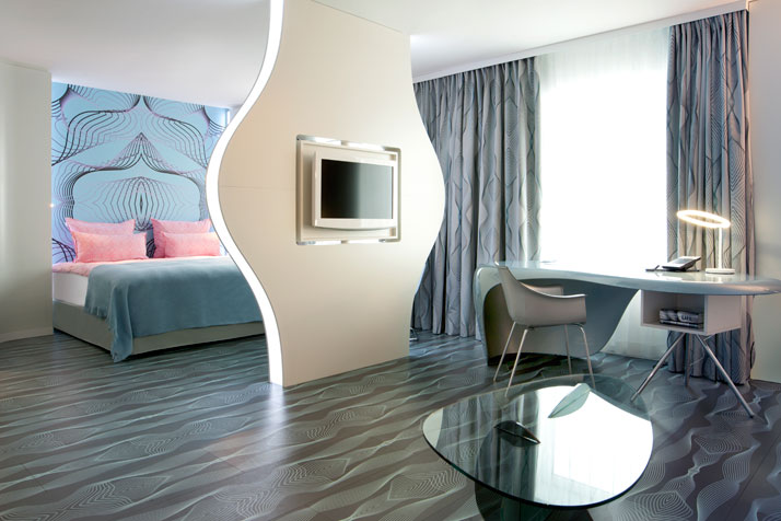 Hotel Nhow Berlin - chambre