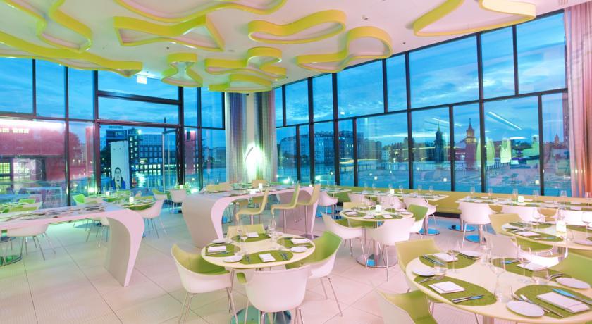Hotel Nhow Berlin - restaurant nuit