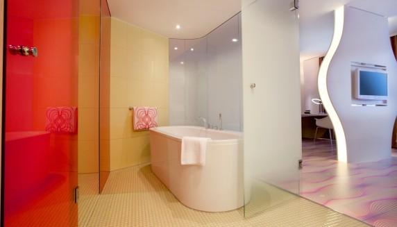 Hotel Nhow Berlin - salle de bain