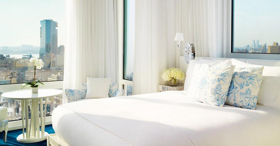 hotel mondrian new york - chambre deluxe