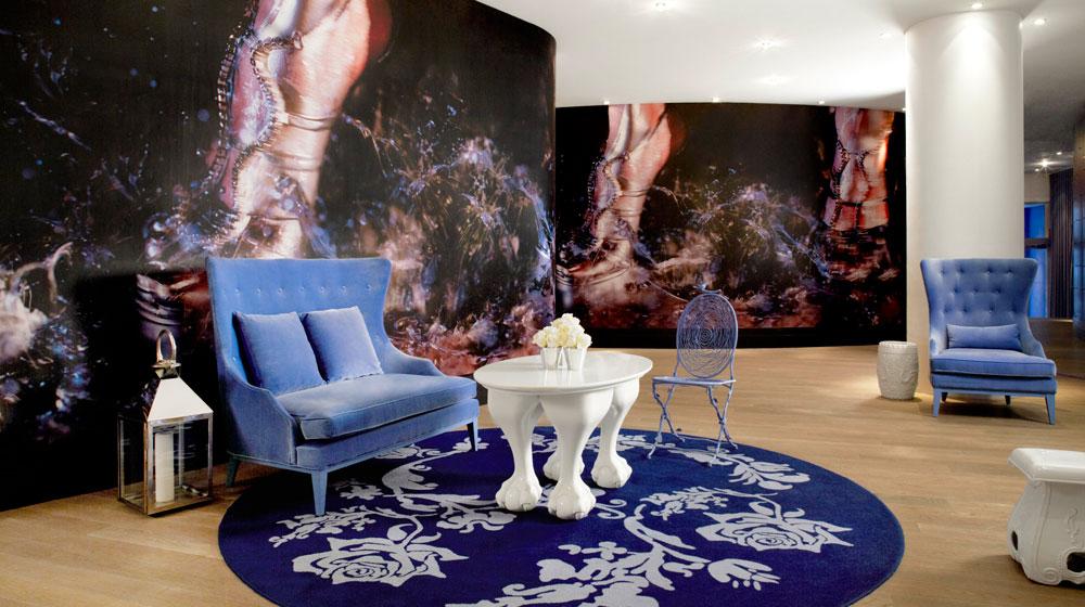 hotel mondrian new york - lobby