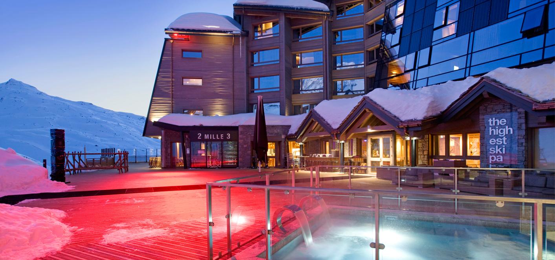 hotel altapura - vue exterieure