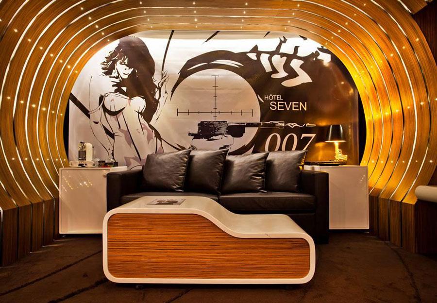 hotel seven - chambre 007