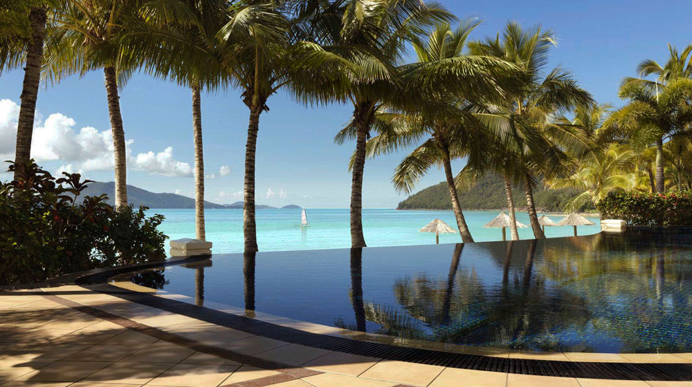 Heart reef - hotel beach club hamilton piscine mer
