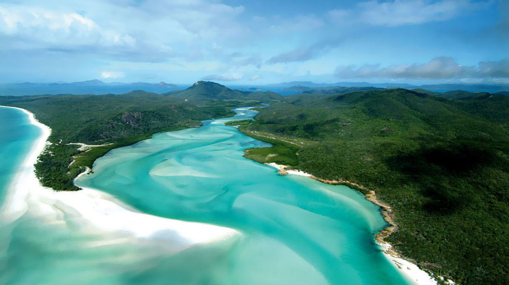 Whitehaven Beach - Heart Reef