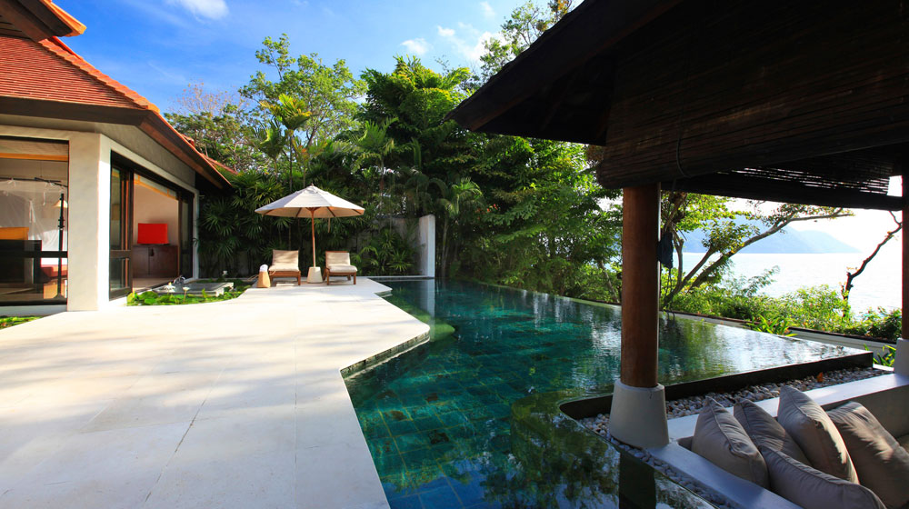 Pool Villa Suite hôtel six senses Yao Noi