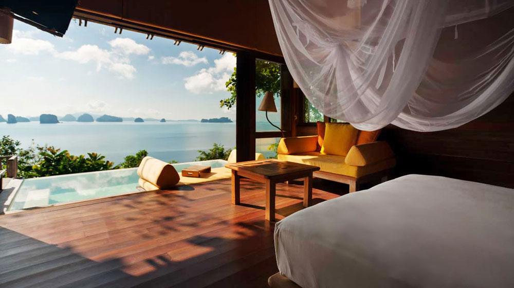 Deluxe Pool Villa de l'hôtel Six Senses Yao Noi