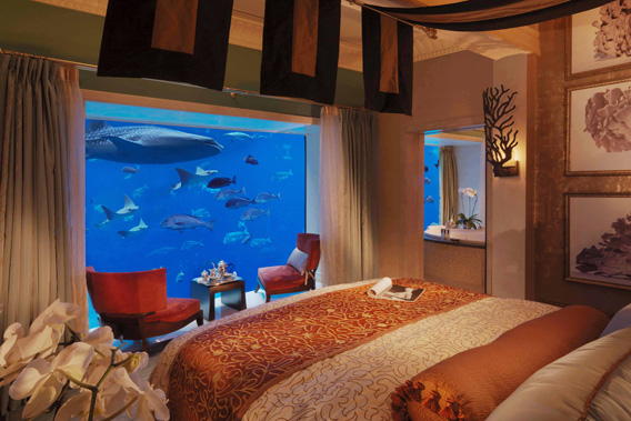 Suite Underwater de l'Hôtel Atlantis The Palm à Dubaï