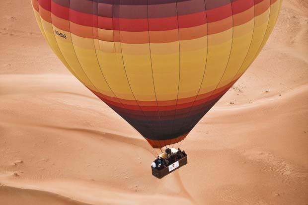 Tour en Montgolfière à Dubaï