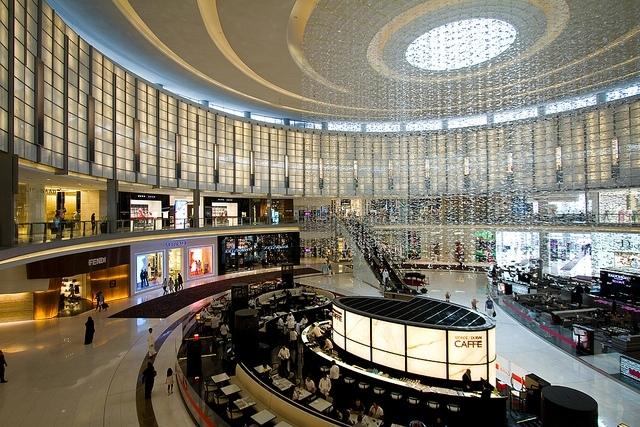 Centre commercial à Dubaï