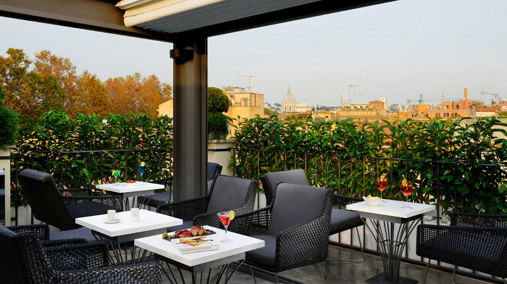 Rooftop Hotel Relais Orso à Rome
