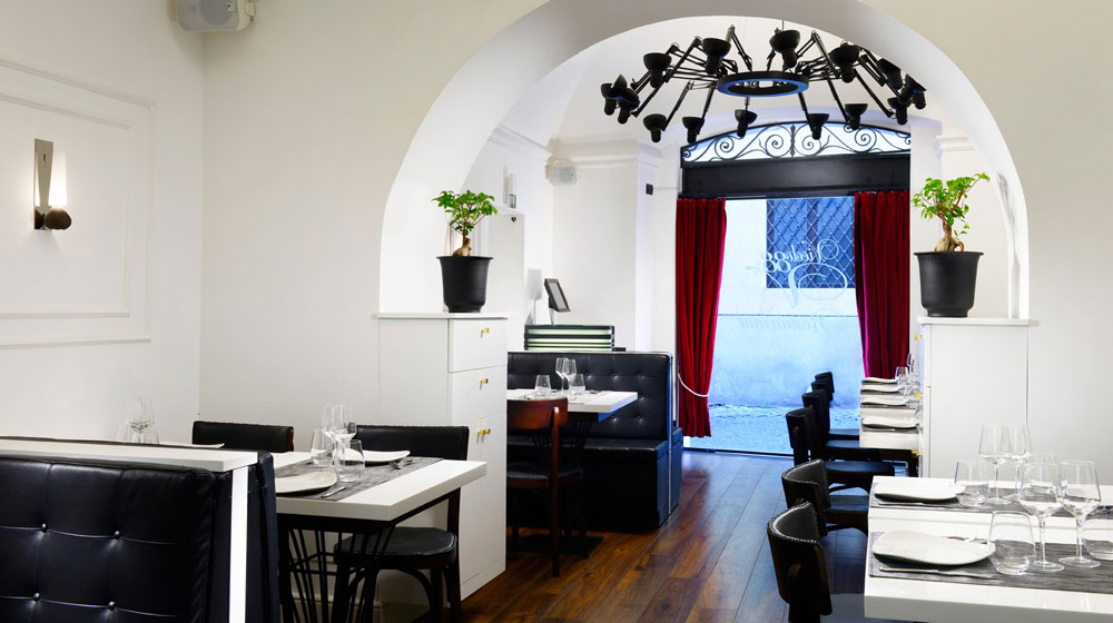 Restaurant Vicolo 88 de l'Hôtel Relais Orso à Rome