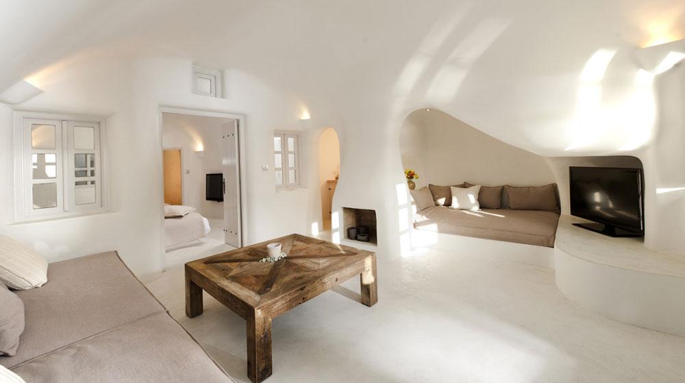 Hotel Kapari Imerovigli Grece - suite2