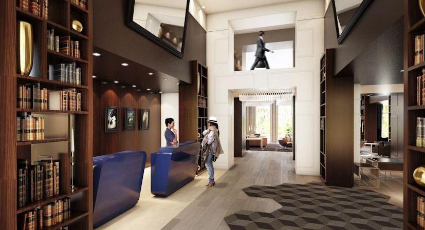 Hotel Renaissance Paris Hippodrome de Saint-Cloud - reception