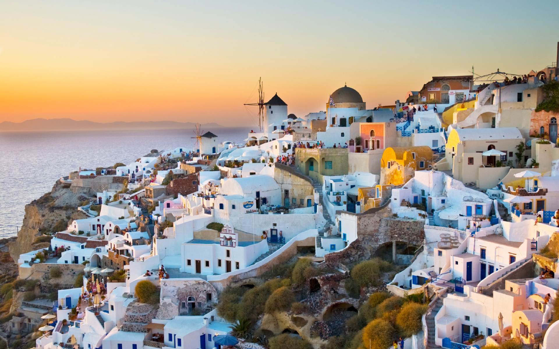 santorini grece