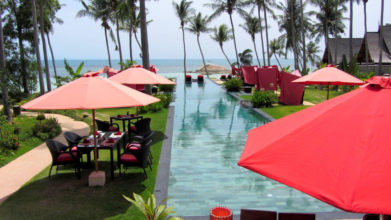 Hotel Kupu Kupu Phangan - piscine