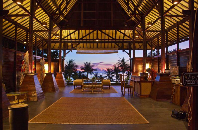 Kupu Kupu Koh Phangan Luxury Hotel - Lobby accueil