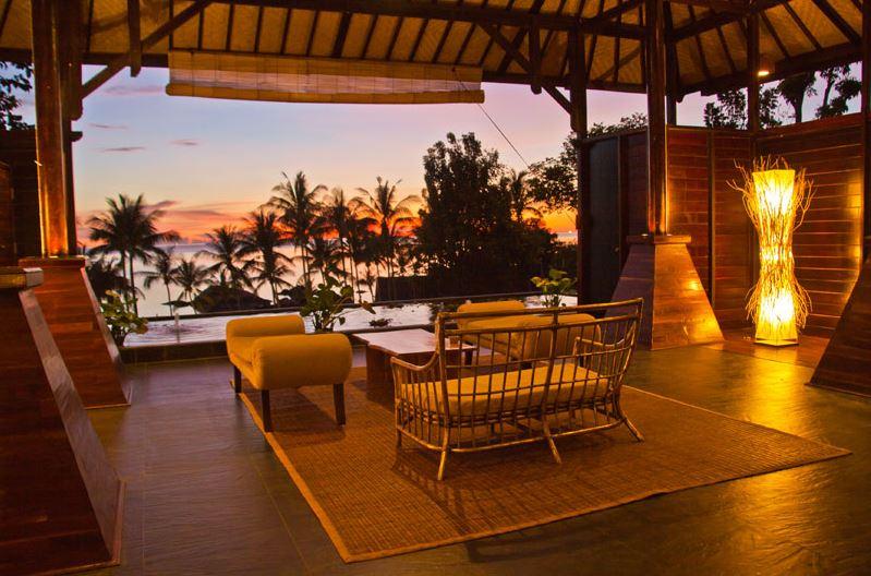 Kupu Kupu Koh Phangan Luxury Hotel - Lobby accueil2