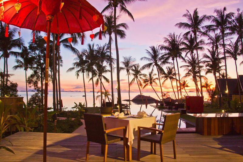 Kupu Kupu Koh Phangan Luxury Hotel - Restaurant La Plage