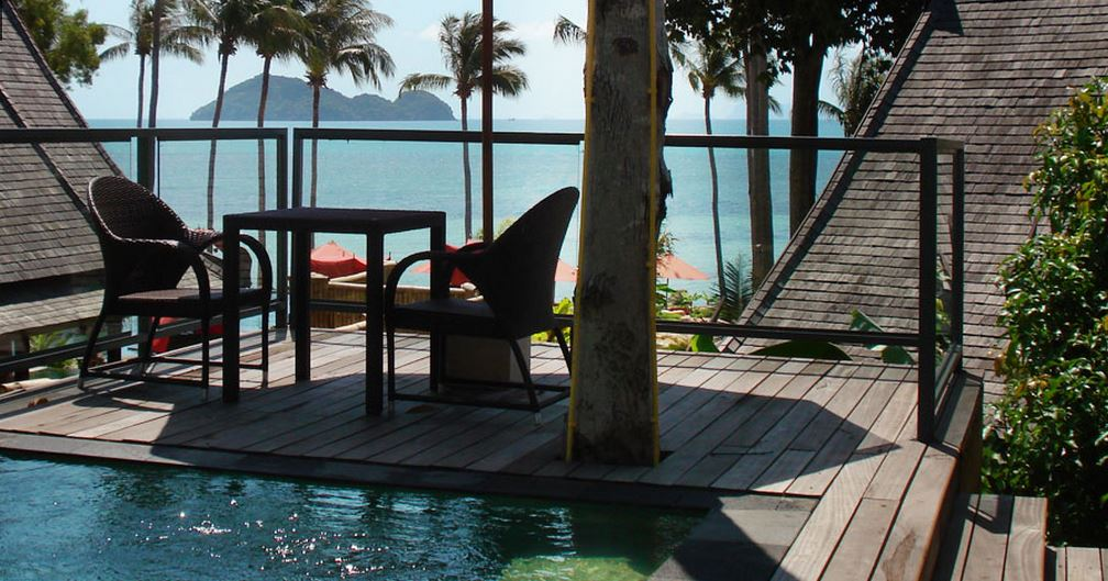 Kupu Kupu Koh Phangan Luxury Hotel - Sunset view pool villa