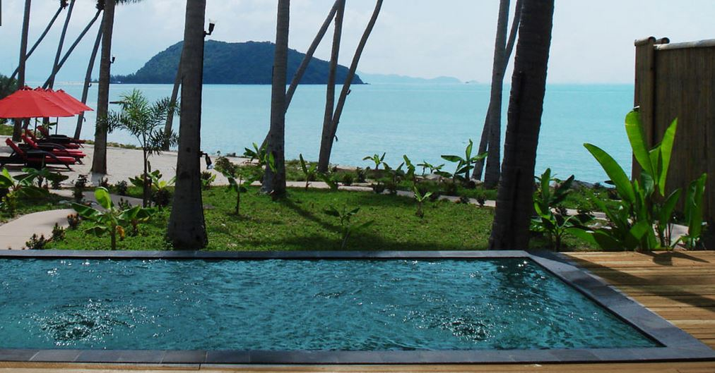 Kupu Kupu Koh Phangan Luxury Hotel - beach front pool villa