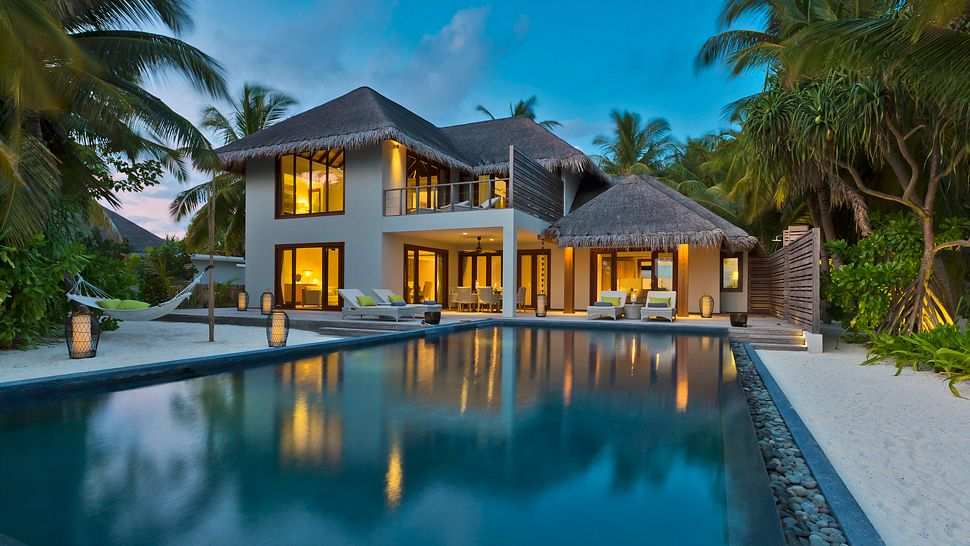 Hotel dusit thani maldives- Two bedroom beach residence
