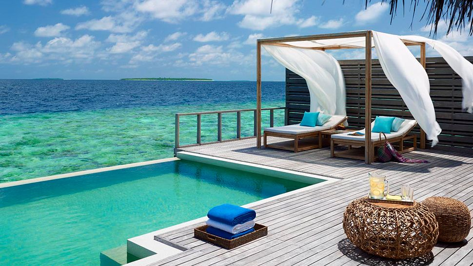 Hotel dusit thani maldives ocean villa with pool