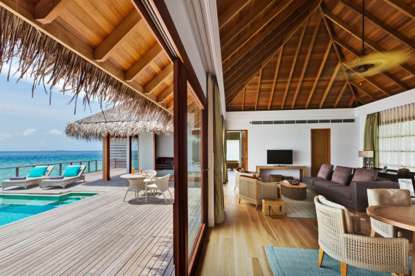 hotel dusit thani maldives - pavillion villa