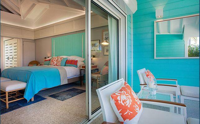 Hotel Guanahani Saint Barth - chambre vue lagon 2