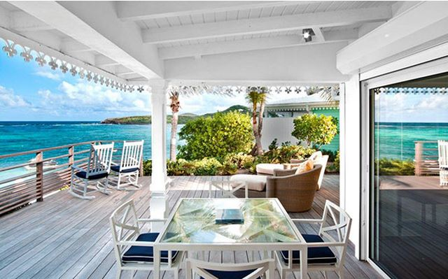 Hotel Guanahani Saint Barth - suite junior vue lagon