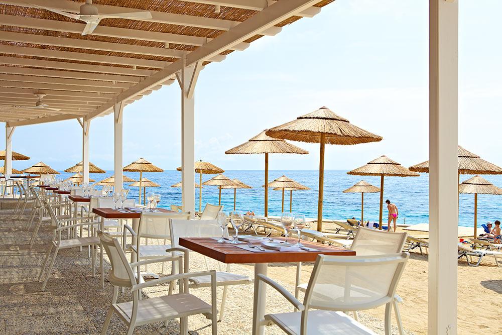 Hotel Marbella Corfou Grece - Restaurant Dolphin Bord de Mer