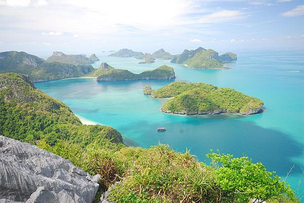 Ang Thong Marine Park à Koh Phangan