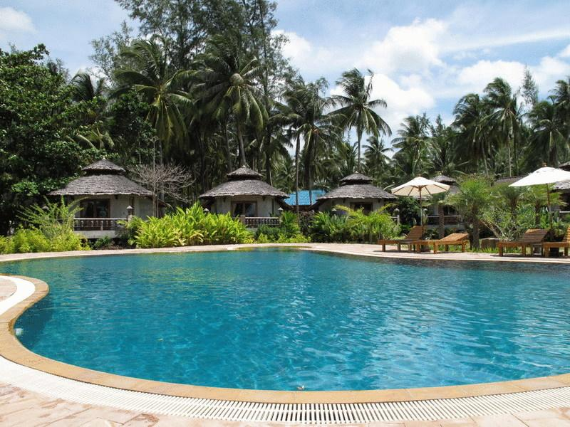 Koh Phangan - hotel Malibu Beach Bungalow