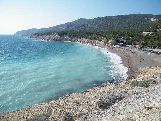 Santorin -Monolithos Beach