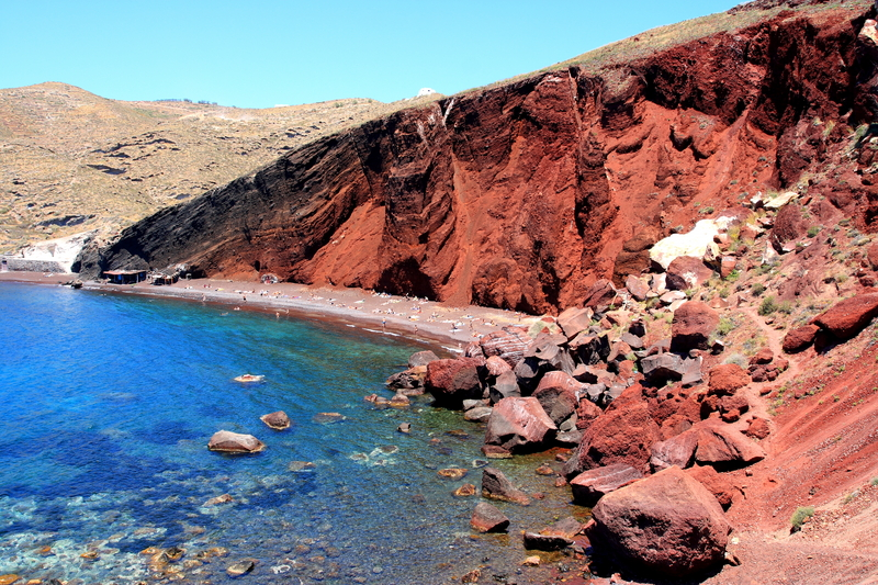 Red Beach Santorin
