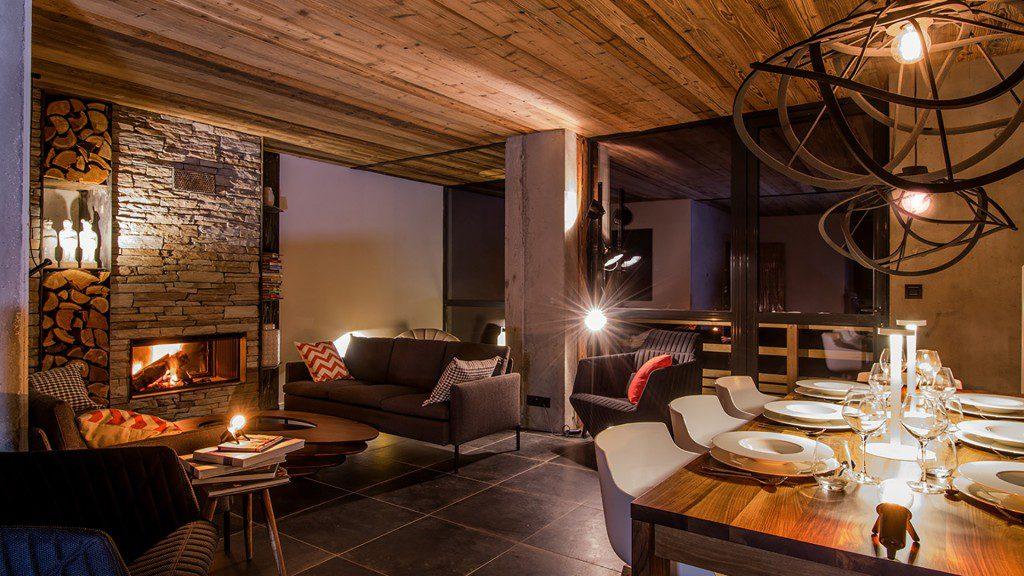 hôtel ski - hotel Nevalhaia Vars - restaurant