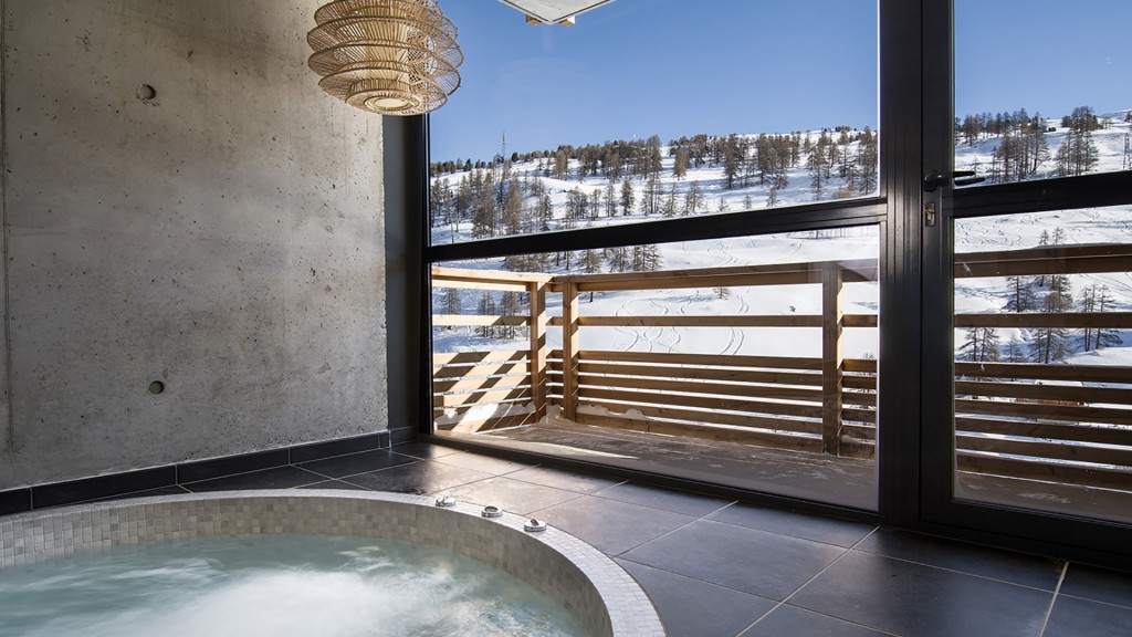 hôtel ski - hotel Nevalhaia Vars - spa