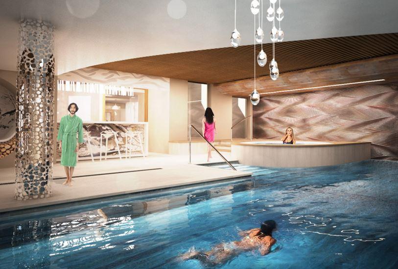 Spa de l'hôtel Pashmina 5 étoiles à val thorens