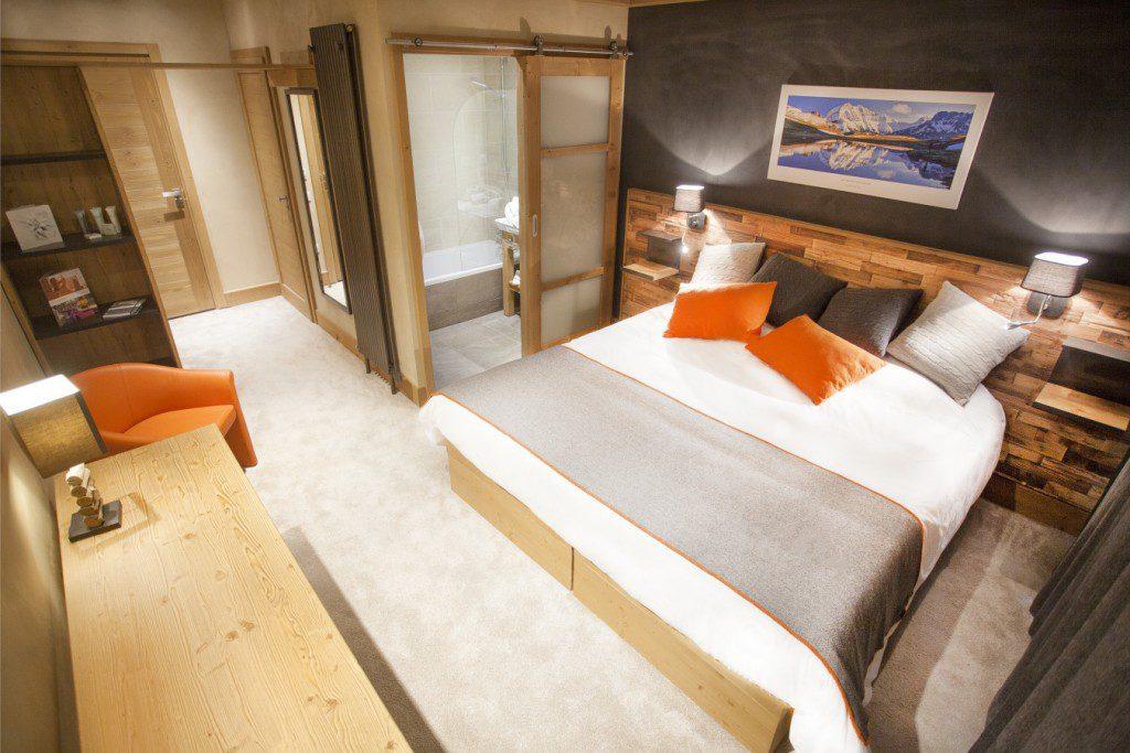 hôtel ski - hotel saint charles Val Cenis - chambre