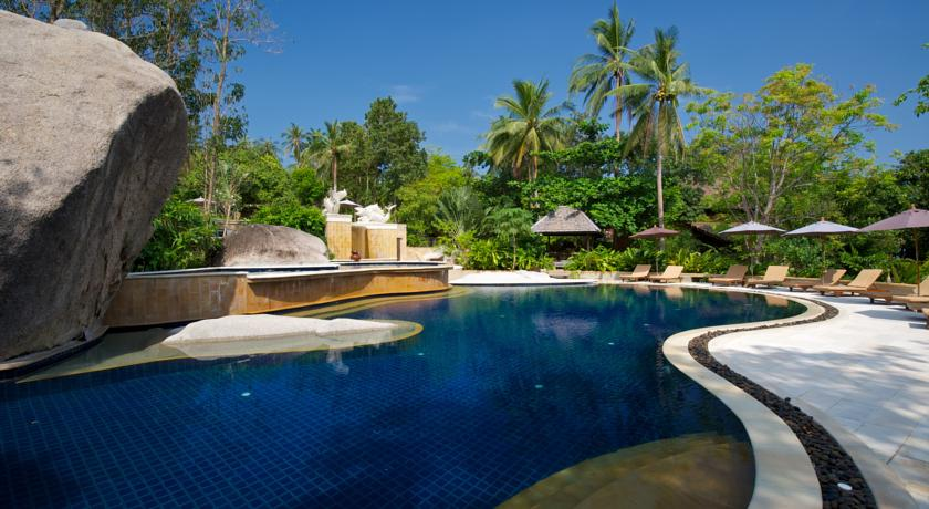 piscine hotel sensi koh tao