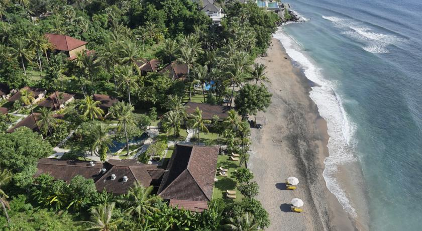 Bali Amed Hotel Hidden Paradise Cottages vue pano