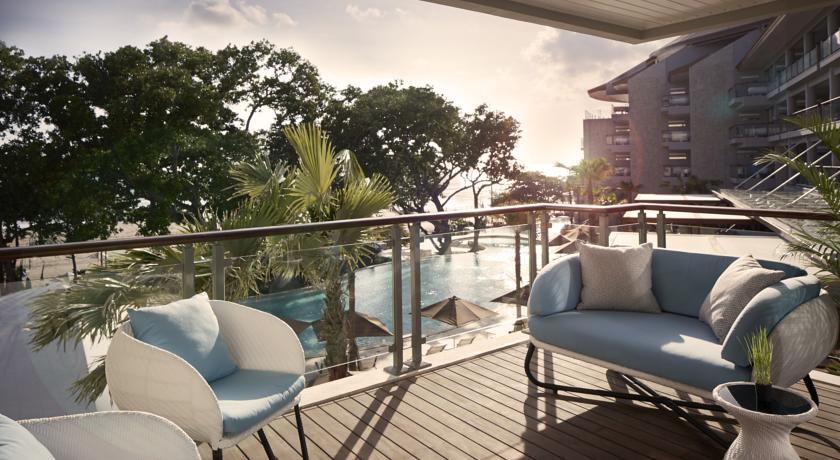 Bali Seminyak Hotel Double Six terrasse