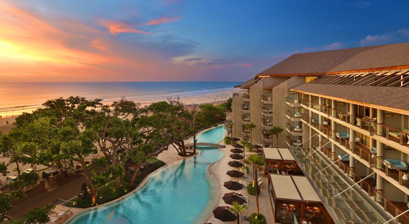 Bali Seminyak Hotel Double Six vue mer