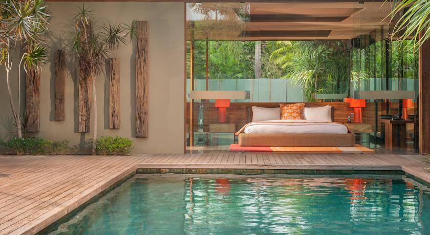 Bali Seminyak i-Villas by Karaniya Experience piscine et chambre