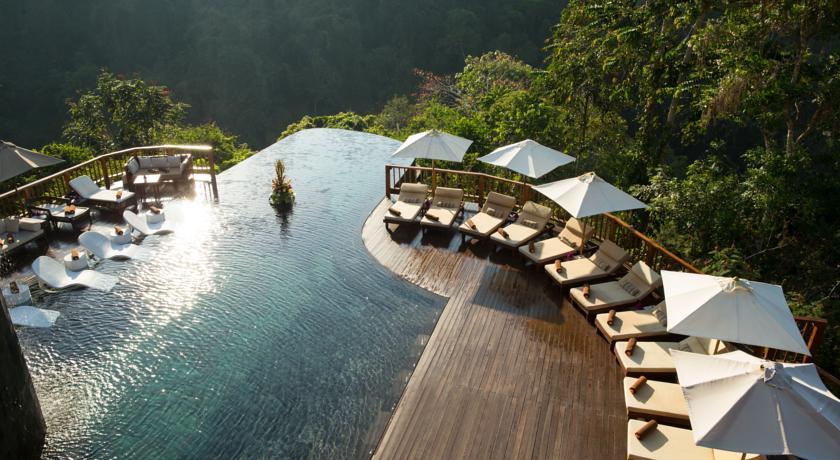 Bali Ubud Hotel Hanging Gardens piscine