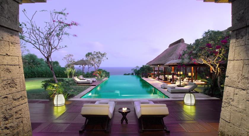 Bali Uluwatu hotel Bulgari Resort piscine