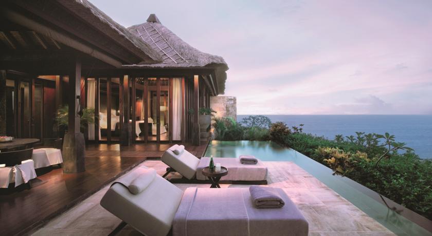 Bali Uluwatu hotel Bulgari Resort terrasse