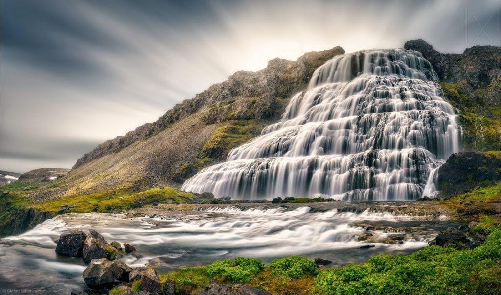 Cascade Dynjandi Islande